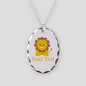 Personalizable Little Lion Necklace