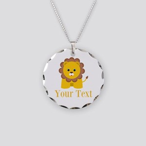 Personalizable Little Lion Necklace