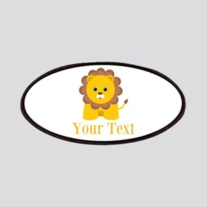 Personalizable Little Lion Patches