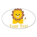 Personalizable Little Lion Sticker