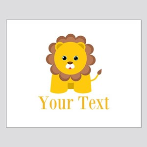 Personalizable Little Lion Posters