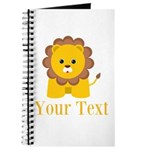 Personalizable Little Lion Journal