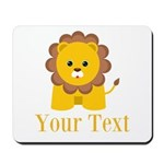 Personalizable Little Lion Mousepad