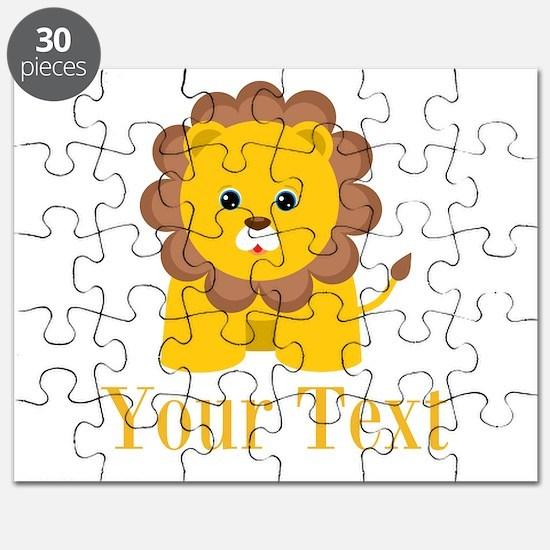 Personalizable Little Lion Puzzle