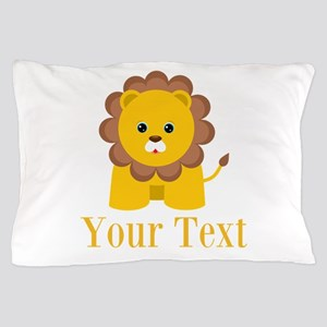 Personalizable Little Lion Pillow Case