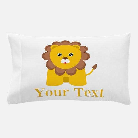 Personalizable Little Lion Pillow Case