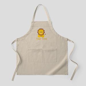 Personalizable Little Lion Apron