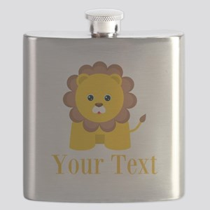 Personalizable Little Lion Flask