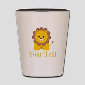 Personalizable Little Lion Shot Glass