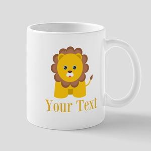 Personalizable Little Lion Mugs