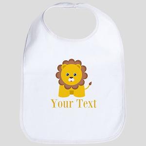 Personalizable Little Lion Bib