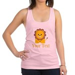 Personalizable Little Lion Racerback Tank Top