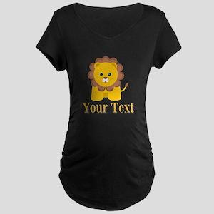 Personalizable Little Lion Maternity T-Shirt