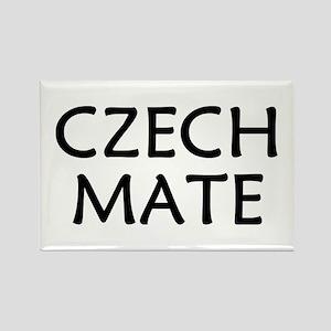Czech Mate Rectangle Magnet