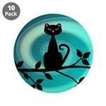 Black Cat on Branch Wave 3.5