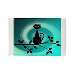 Black Cat on Branch Wave Magnets