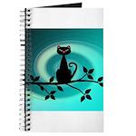 Black Cat on Branch Wave Journal