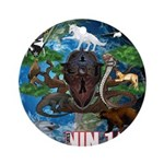 Natures Ninjas of The World Ornament (Round)