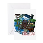 Natures Ninjas of The World Greeting Cards