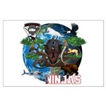 Natures Ninjas of The World Posters