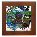 Natures Ninjas of The World Framed Tile