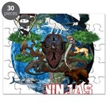 Natures Ninjas of The World Puzzle