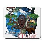 Natures Ninjas of The World Mousepad