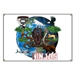 Natures Ninjas of The World Banner