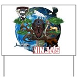 Natures Ninjas of The World Yard Sign