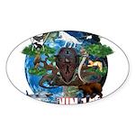 Natures Ninjas of The World Sticker