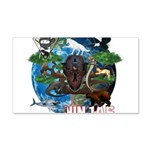 Natures Ninjas of The World Wall Decal