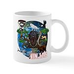 Natures Ninjas of The World Mugs