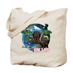Natures Ninjas of The World Tote Bag