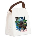 Natures Ninjas of The World Canvas Lunch Bag