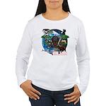 Natures Ninjas of The World Long Sleeve T-Shirt