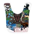 Natures Ninjas of The World Bib