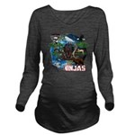 Natures Ninjas of The World Long Sleeve Maternity