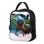 Natures Ninjas of The World Neoprene Lunch Bag