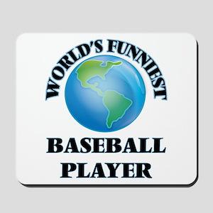 World's Funniest Baseball Player Mousepad