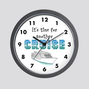 Time for a Cruise Wall Clock