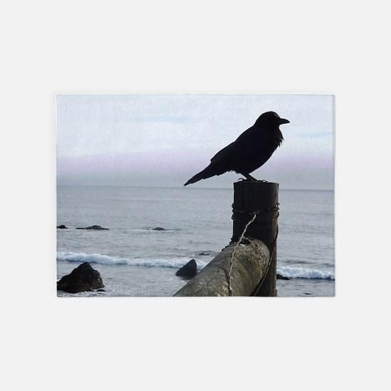 Raven 5'x7'Area Rug