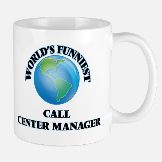 World's Funniest Call Center Manager Mugs
