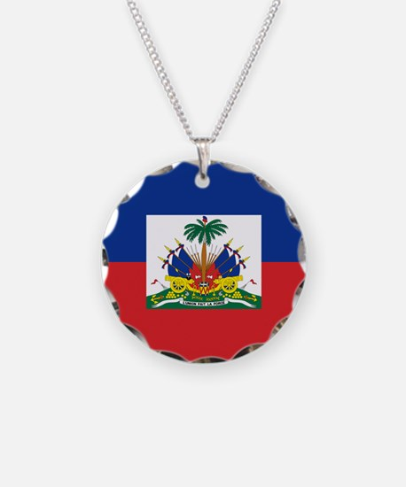 00-but-haitiflag.png Necklace