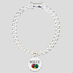 Bocce Charm Bracelet, One Charm