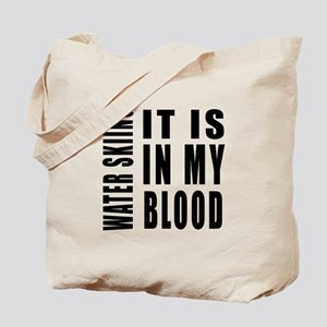 Wind Surfing it is in my blood Tote Bag