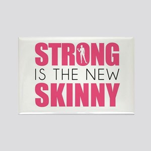 STRONG IS THE NEW SKINNY Magnets