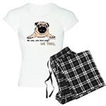 No Way You Love Pugs? pajamas