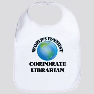 World's Funniest Corporate Librarian Bib