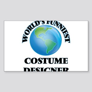 World's Funniest Costume Designer Sticker