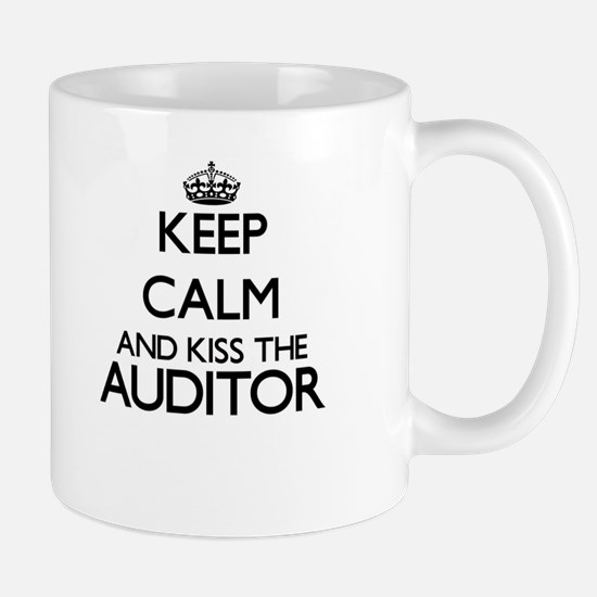 Keep calm and kiss the Auditor Mugs